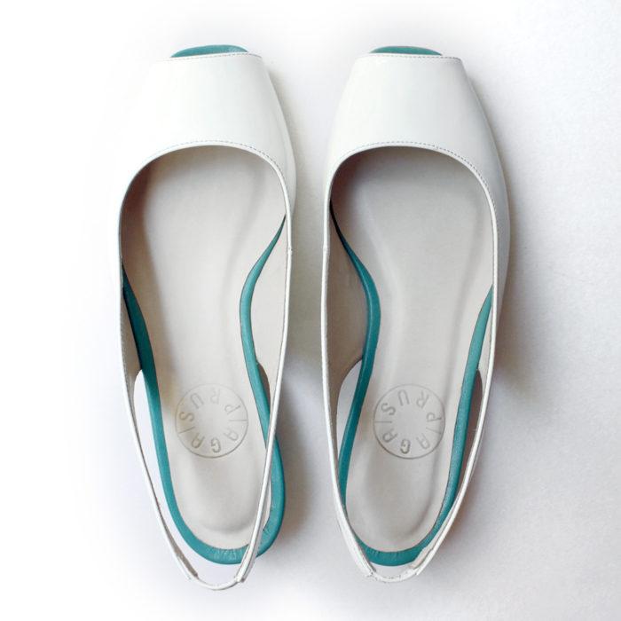 Sandałki białe
